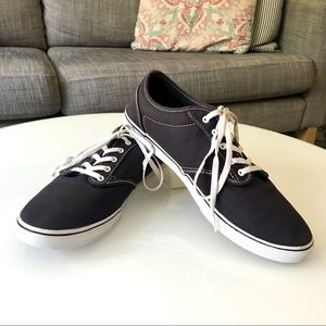 EUC Vans Dark Gray Sneakers